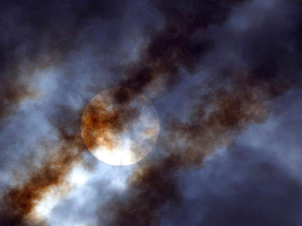 sun-smoke